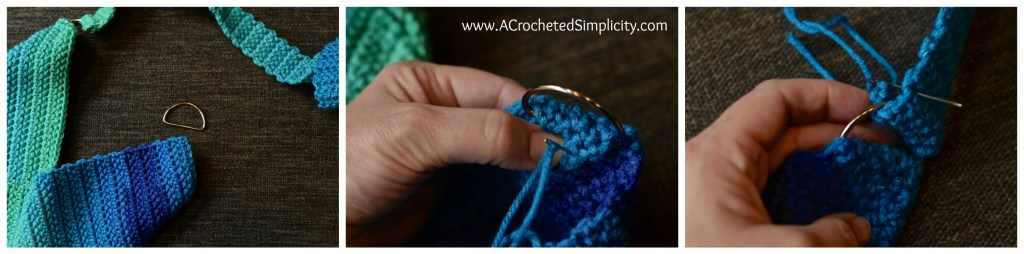 Free Crochet Pattern - Cool Stripes Bag by A Crocheted Simplicity