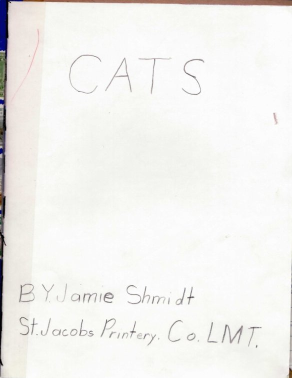 Cats - Title Page