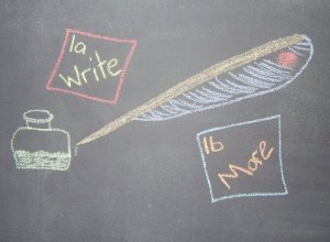 Resolutions 1a & 1b – That Bit About Writing More