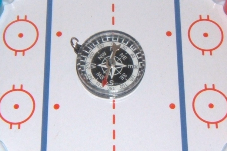 Compass On Rink