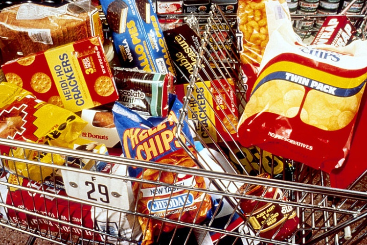 Junk Food In Cart