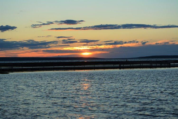 sunset-at-waskesiu-lake