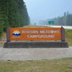 Robson Meadows Campground – Mount Robson Provincial Park – review