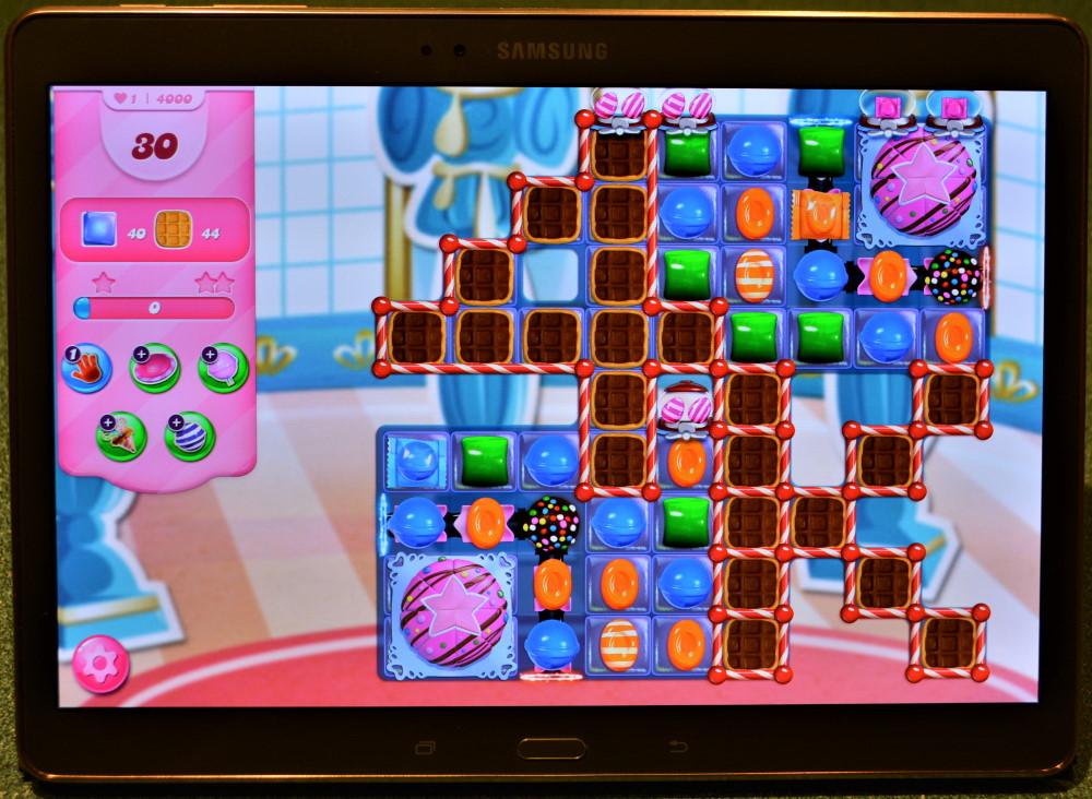 The starting screen of level 4000 in Candy Crush Saga