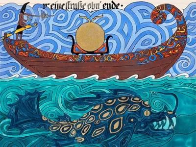 """Disegno di C.G. Jung tratto dal """"Libro Rosso"""""""