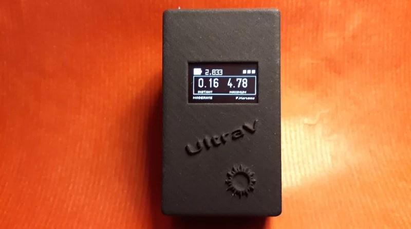 UltraV: a portable UV-index meter