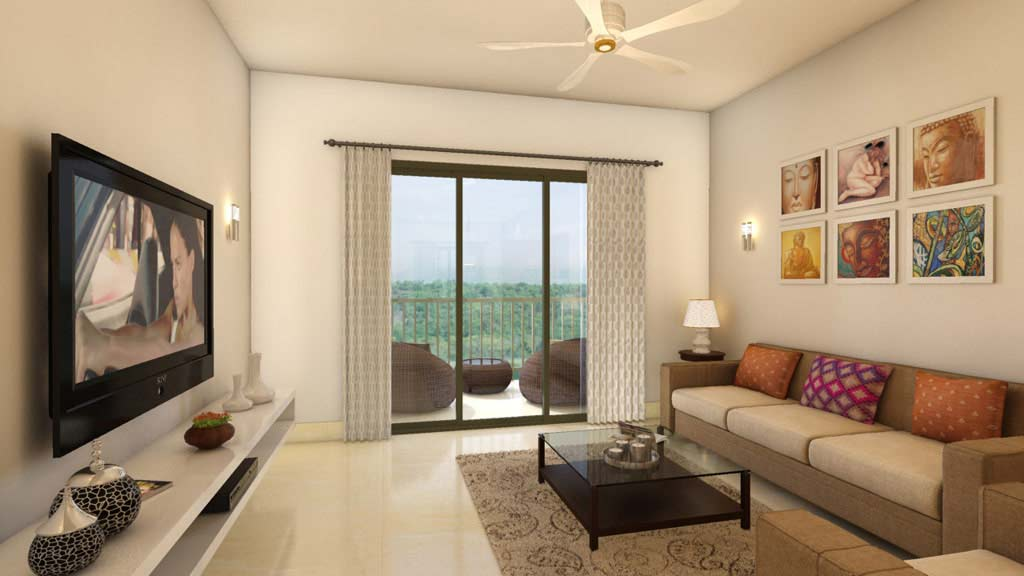 small living room interior design ideas india barcelona chair flats in goa for sale | 3 bhk