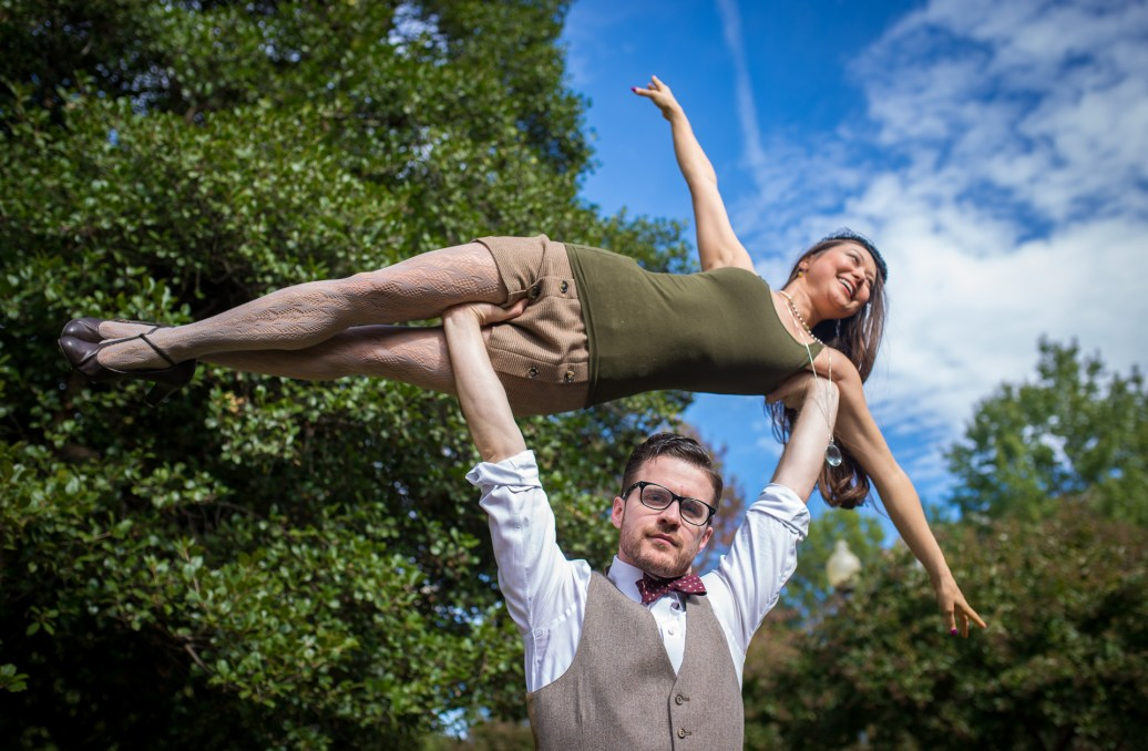 Rob Oden and Lindsey Fong in Washington, DC