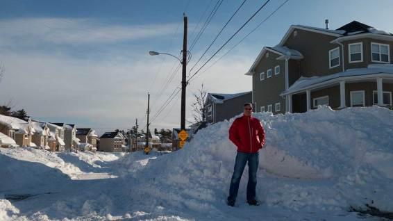 Unglaublich viel Schnee!