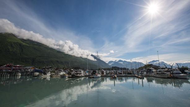Der Hafen von Valdez.