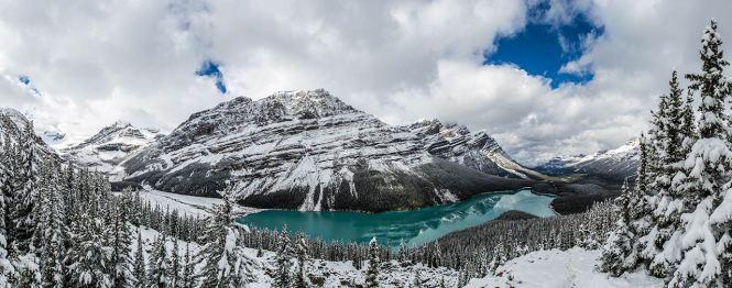 Peyto Lake: ein Muss für alle Fotografen.