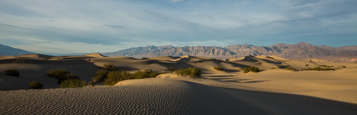 Sanddünen im Death Valley.