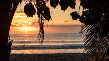 Die magischen 5 Minuten vor dem Sonnenuntergang.