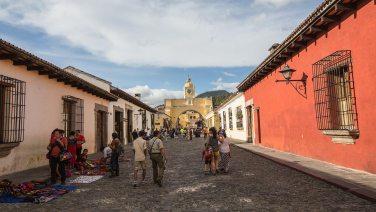 Die prächtige Altstadt von Antigua.