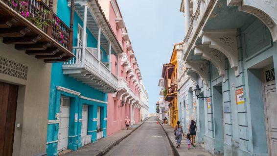 Buntes Cartagena.
