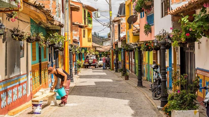Für uns ist Guatape eines der schönsten Städtchen Kolumbiens.