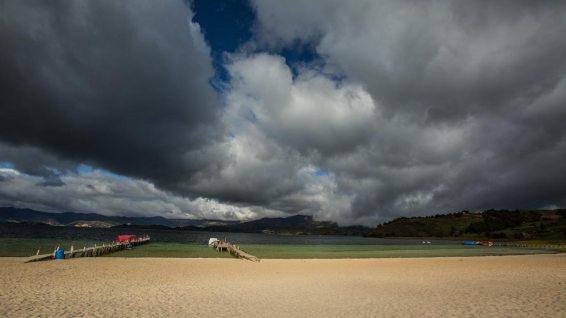 Playa Blanca: Ein Sandstrand auf 3000 MüM!