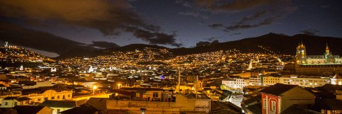 Quito by night.