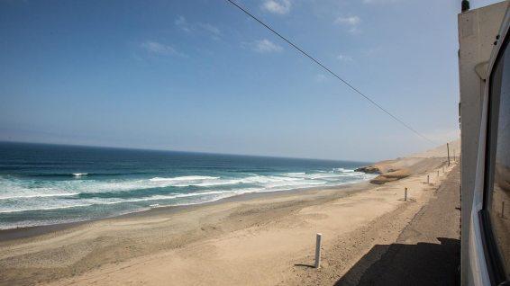 Ansonsten ist die Küstenregion von Peru seeehr karg und eintönig.