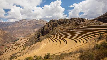 Die Inkas bauten so die eine oder andere Terrasse.