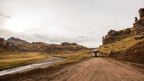 Utah? Nein, Peru.