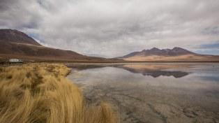 Hübsch: Laguna Cañapa, für einmal ohne Wind.