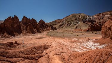 Wir bleiben ein paar Tage im Valle de Arcoiris.