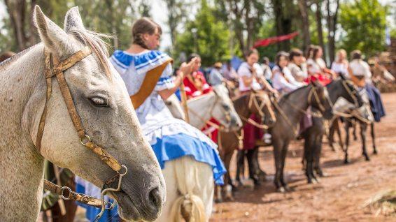 Tacuarembo: Die Gaucho-Tradition wird hochgehalten und stolz präsentiert.