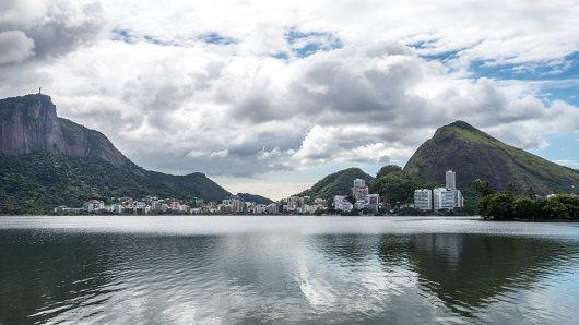 Rio de Janeiro ist überraschend grün.