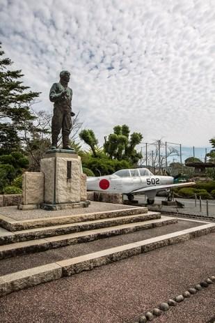 ... sowie das eindrückliche Kamikaze-Museum.