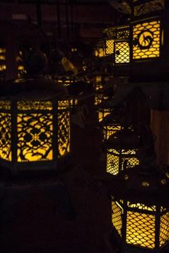 Laternen-Tempel.