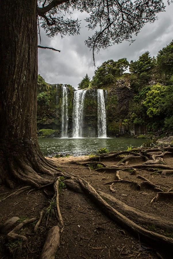 Unser erster Wasserfall... und es wird nicht der Letzte sein ;)