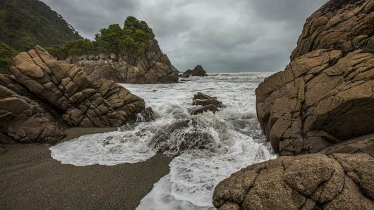 Bildserie: die wilde Küste Neuseelands.
