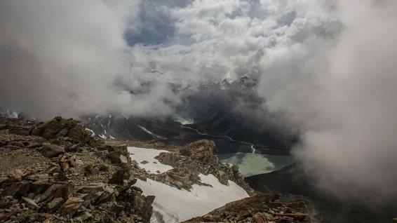 In Neuseeland kann das Wetter innerhalb Minuten umschlagen…