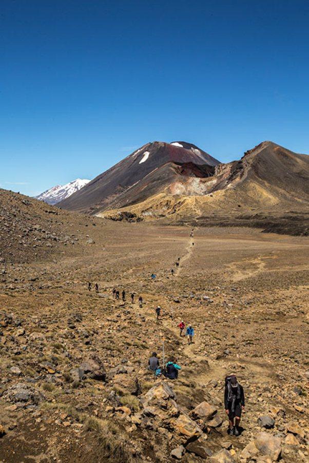 Zum Abschluss geben wir uns das berühmte Tongariro-Crossing.