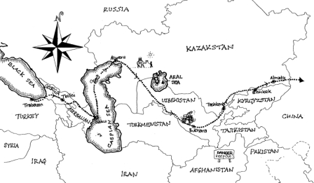 Central Asia « Across Continents