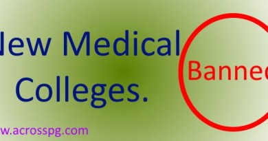 Ban on New Medical Colleges