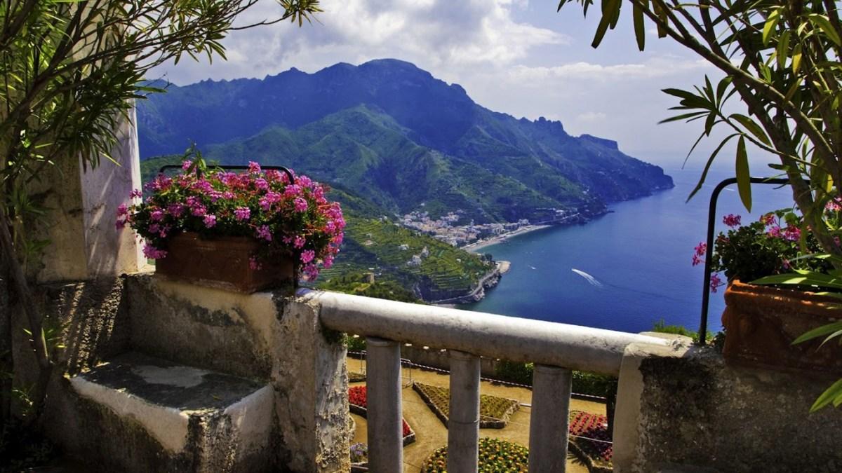 Italian Balcony View