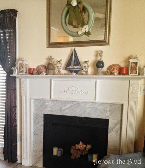 Coastal Mantel