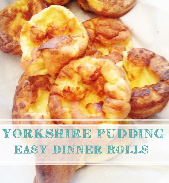 Yorkshire Pudding Across the Blvd