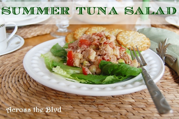 Summer Apple Tuna Salad