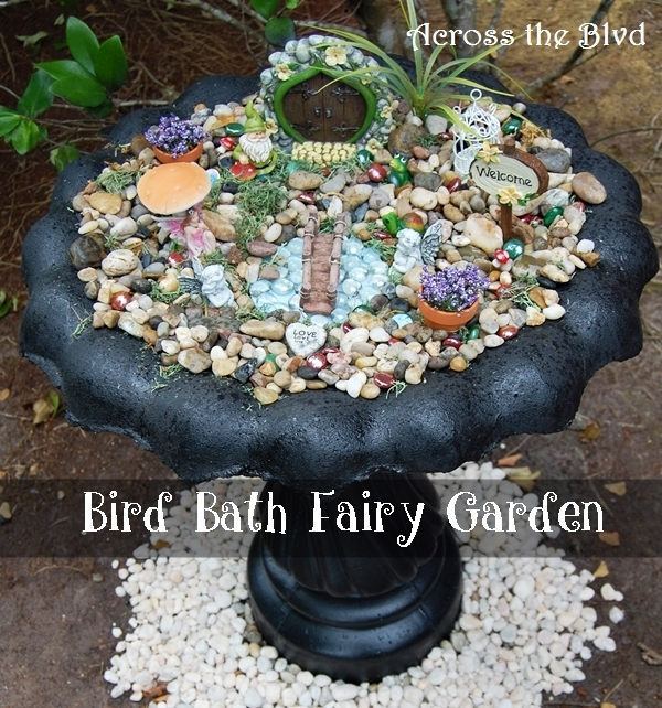 "Bird Bath Fairy ""Garden"""