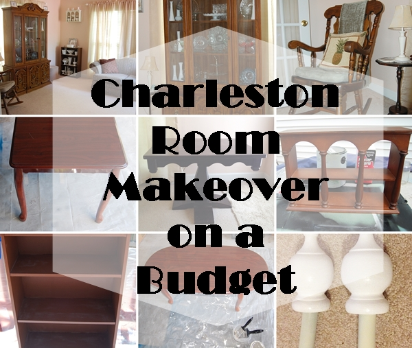 Charleston Room Makeover Before Collage