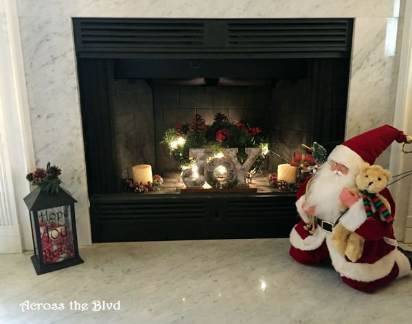 Christmas Home Tour 2015 Across the Blvd