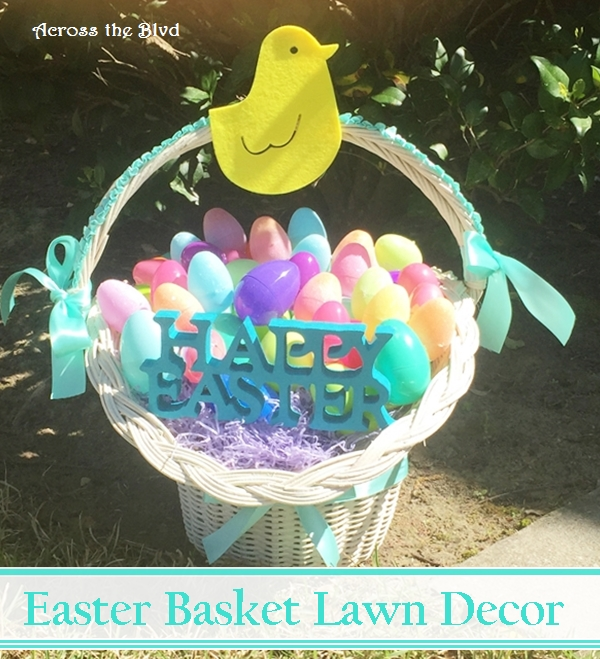 Easter Basket Lawn Decor