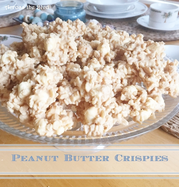 Peanut Butter Crispies