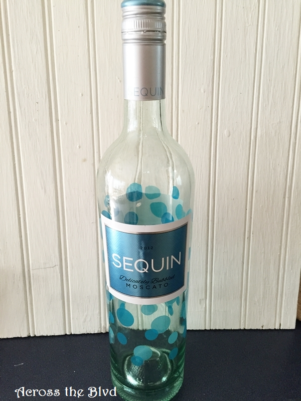 Wine Bottle for Upcycle