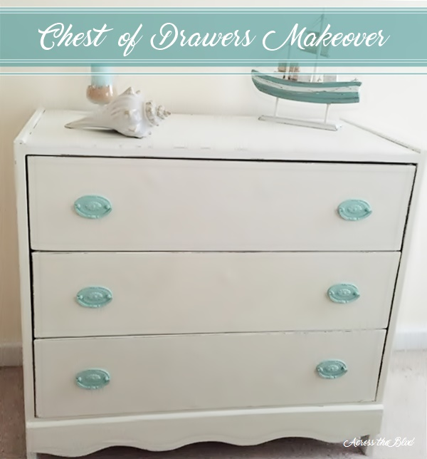Chest of Drawers Makeover Across the Blvd