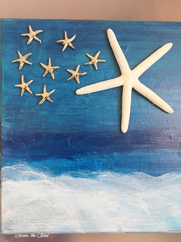Starfish on art