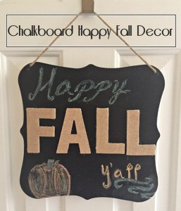 Happy Fall Decor Across the B;vd